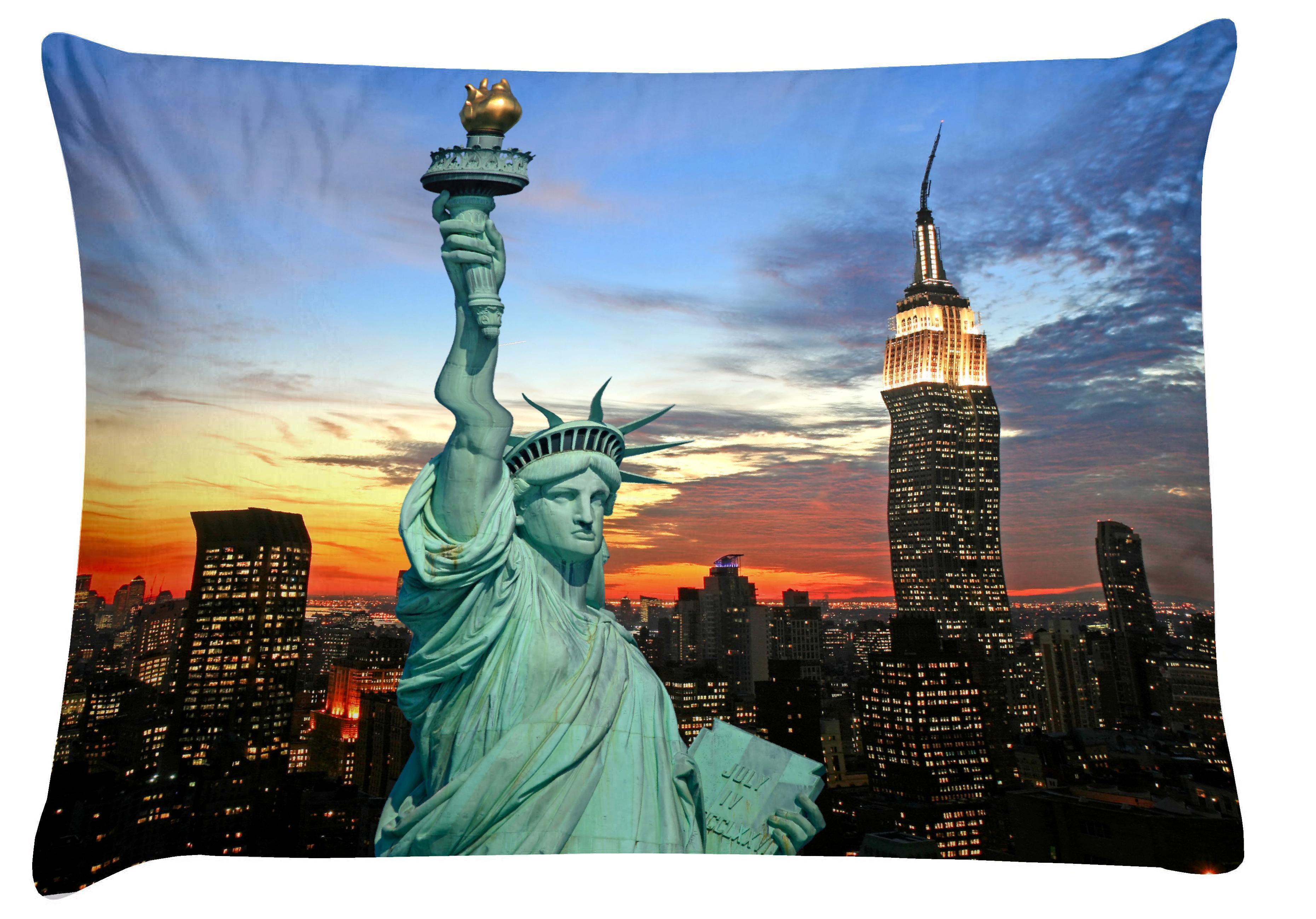 prevleka za vzglavnik new york iz tkanine 100 bomba mako 39 saten. Black Bedroom Furniture Sets. Home Design Ideas