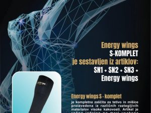 Energy Wings S komplet