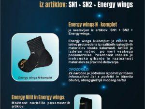Energy Wings N komplet