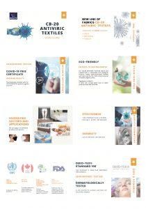 Antiviral tekstil